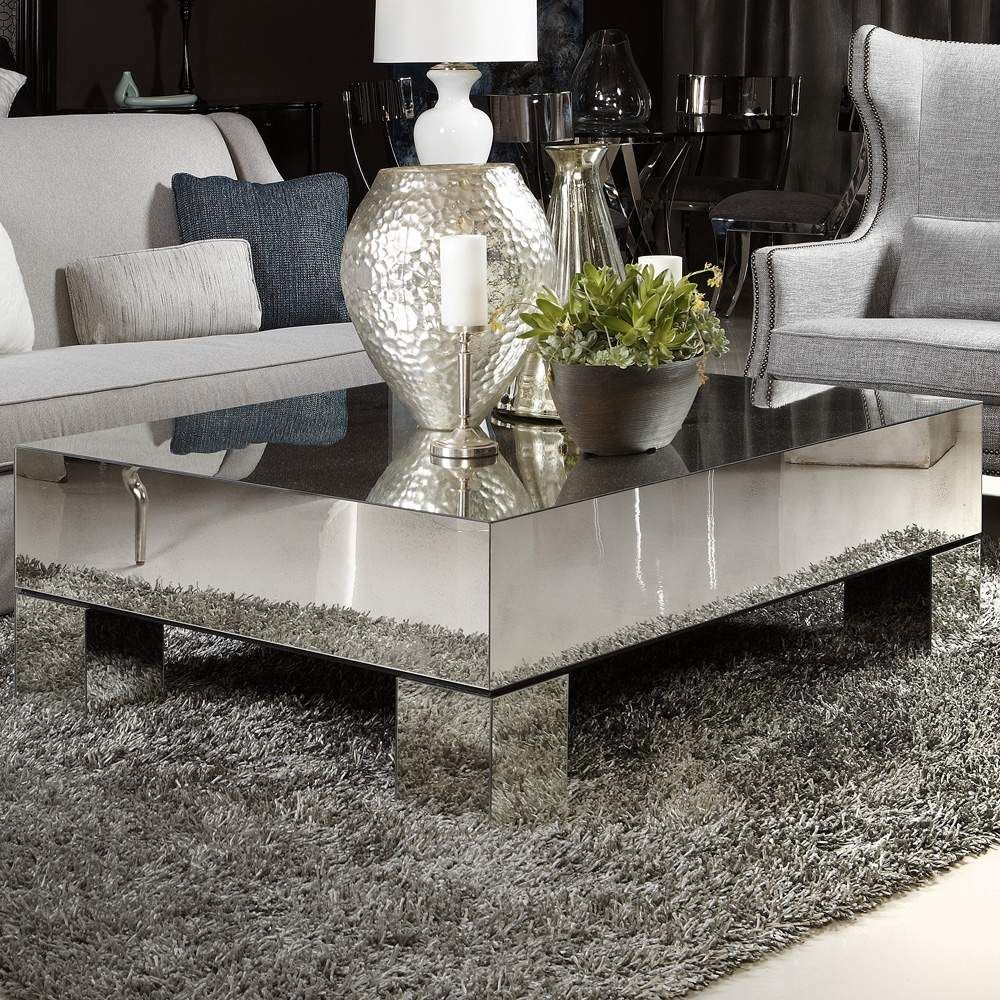 Estelle mirrored coffee table from Bernhardtcoffeetable