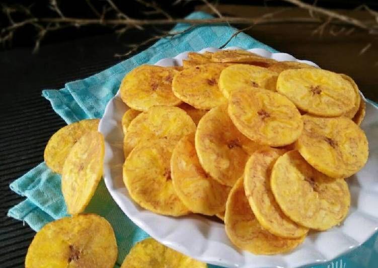 Resep Keripik Pisang Asin Manis Pr Cemilankriuk Oleh Dapurvy Resep Keripik Resep Makanan Dan Minuman