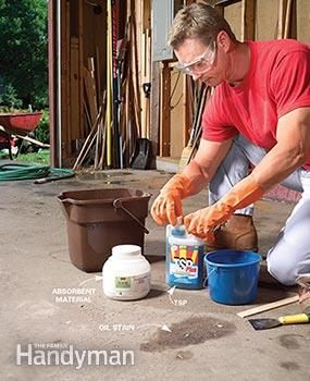 How To Remove Paint From Concrete And Other Stains Diy