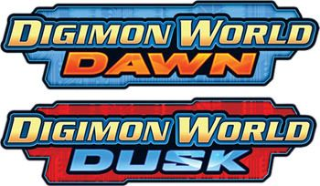 Game Cartridges for Digimon World: Dawn & Digimon World