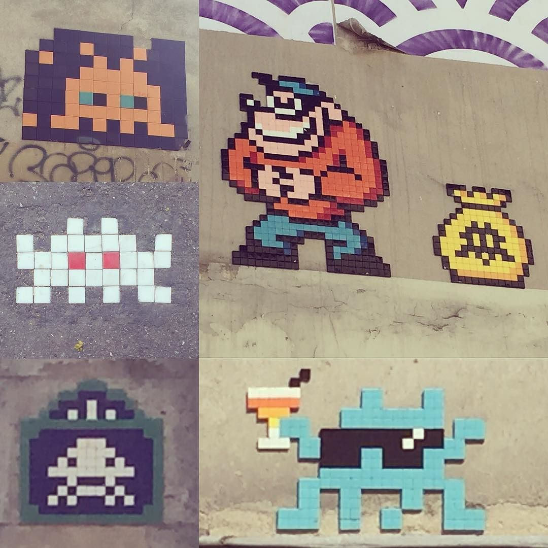 Cartoon Characters 8 Letters : A quick break from letters for some of the great 8 bit tile art in