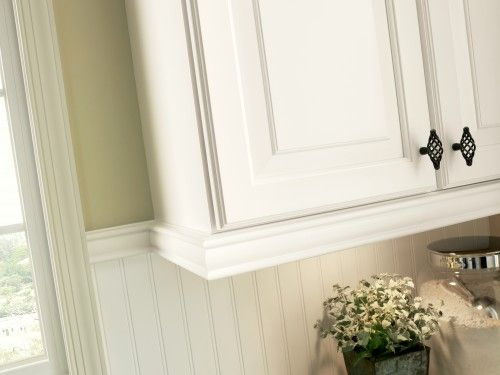 12 Insanely Clever Molding And Trim Projects Kitchen Cabinet
