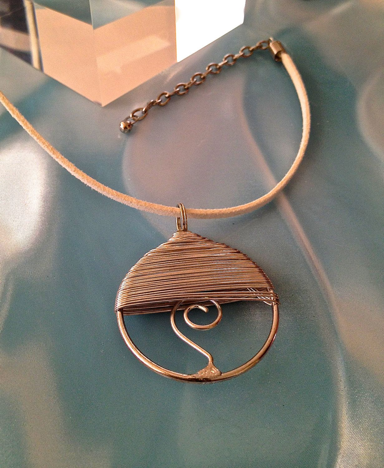 Simple Circle by OneOfaKindmj on Etsy, $16.00