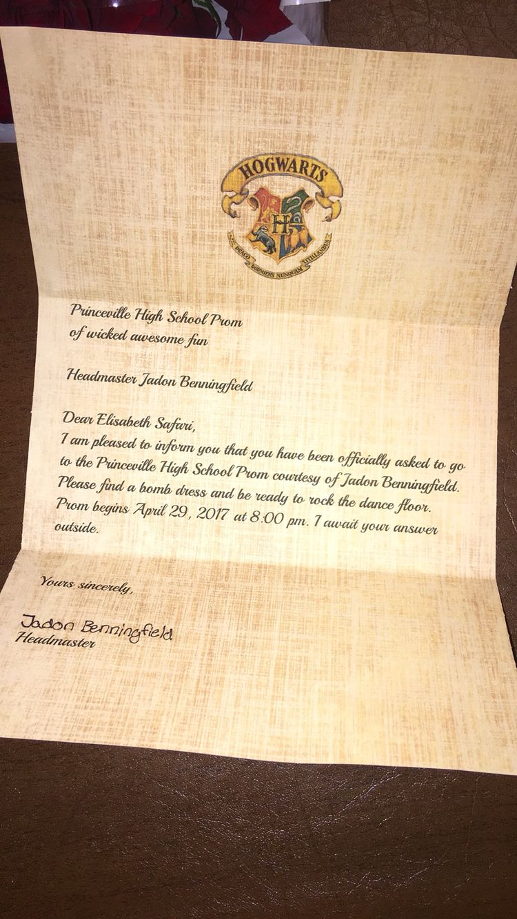Harry Potter Promposal Prom Pinterest Promposal Prom And Prom