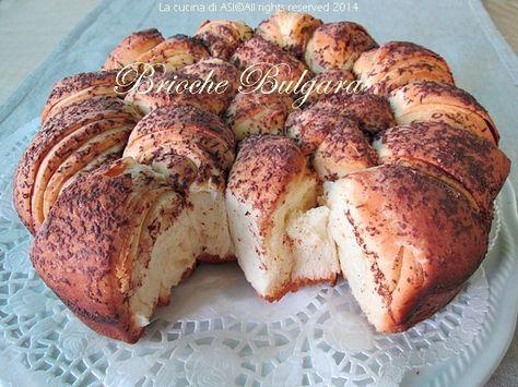Brioche bulgara  Squisito lievitato dolce perfetto per la colazione  ricette dolci lievitati