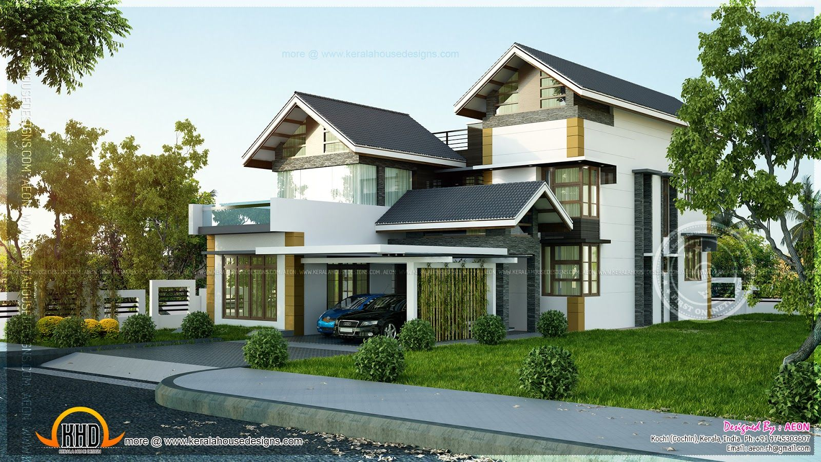 Four bedroom house plans two story house plans two story homes modern house