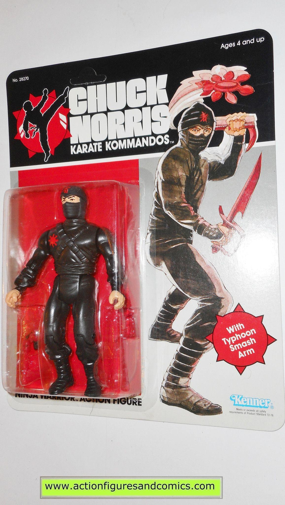 1986 Chuck Norris Ninja Action Figures