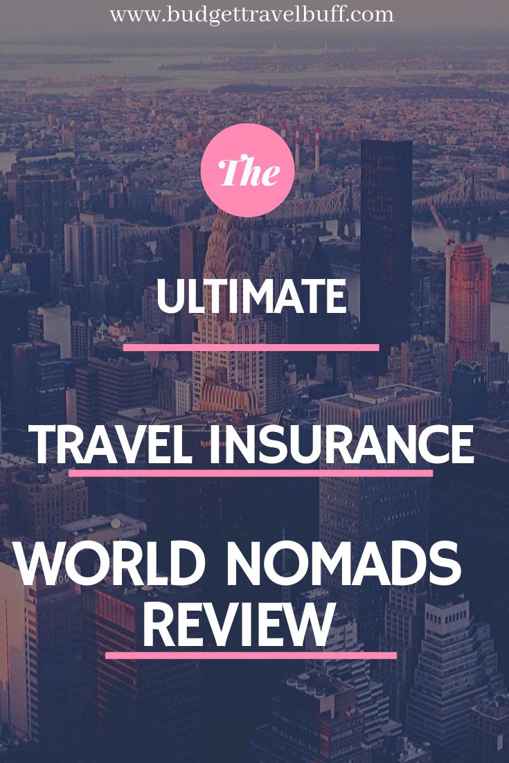 Best International Travel Insurance World Nomads Honest Review