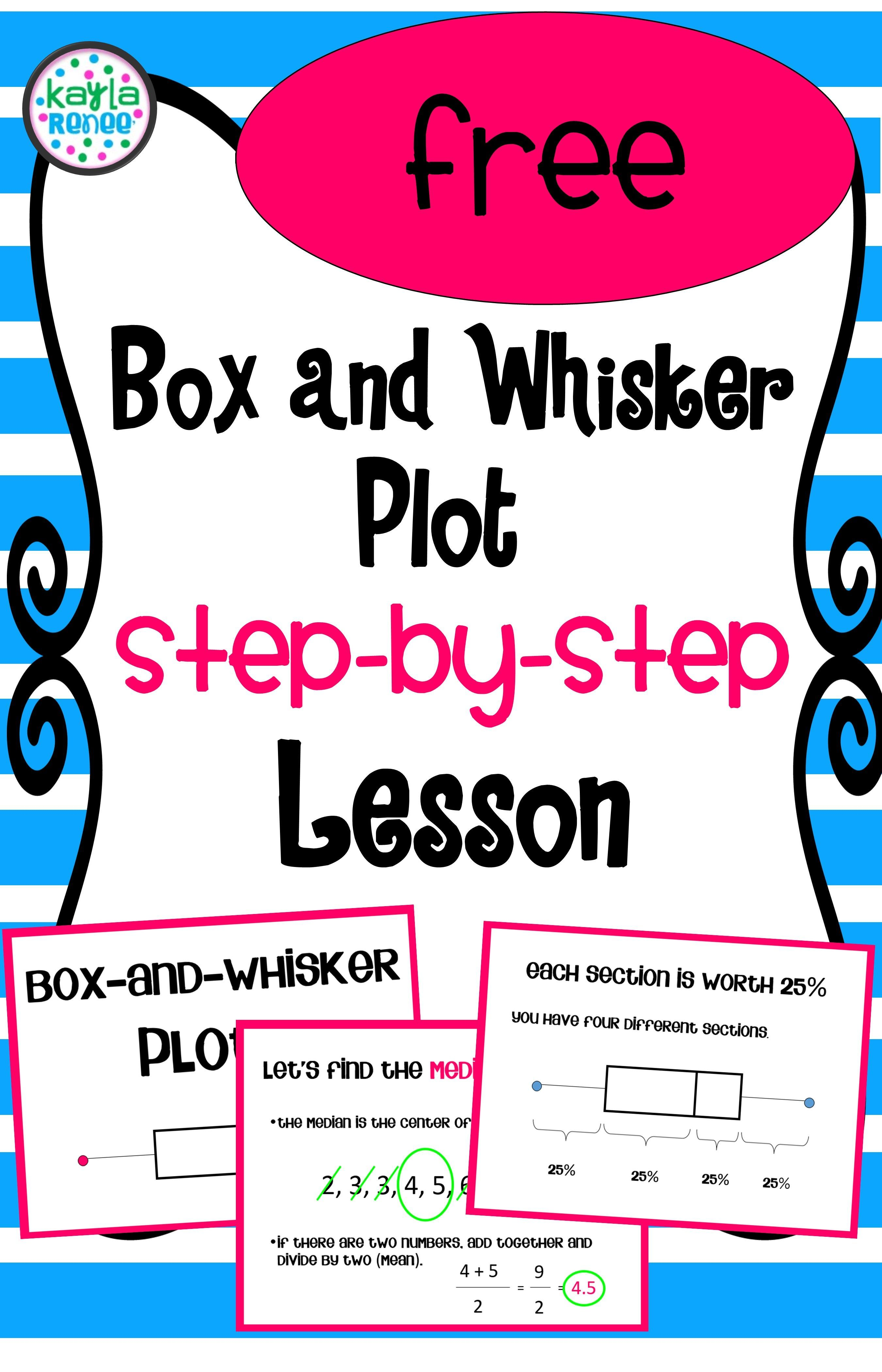 Box And Whisker Plot Lesson
