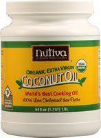 Nutiva Certified Organic Extra Virgin Coconut Oil -- 54 fl oz:Amazon:Grocery & Gourmet Food