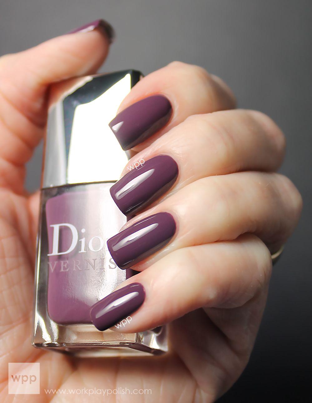 Dior Vernis (887) Purple Mix (work / play / polish) | Nail Polish ...