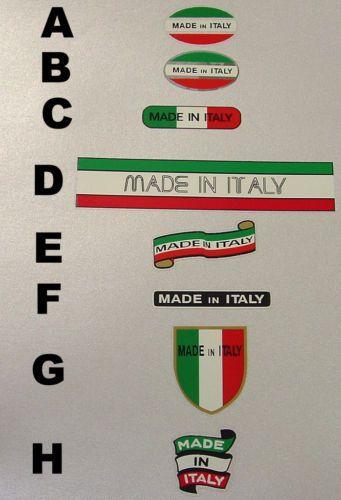 STICKER italien vespa  VESPA STICKERS AUTOCOLLANT adhesif