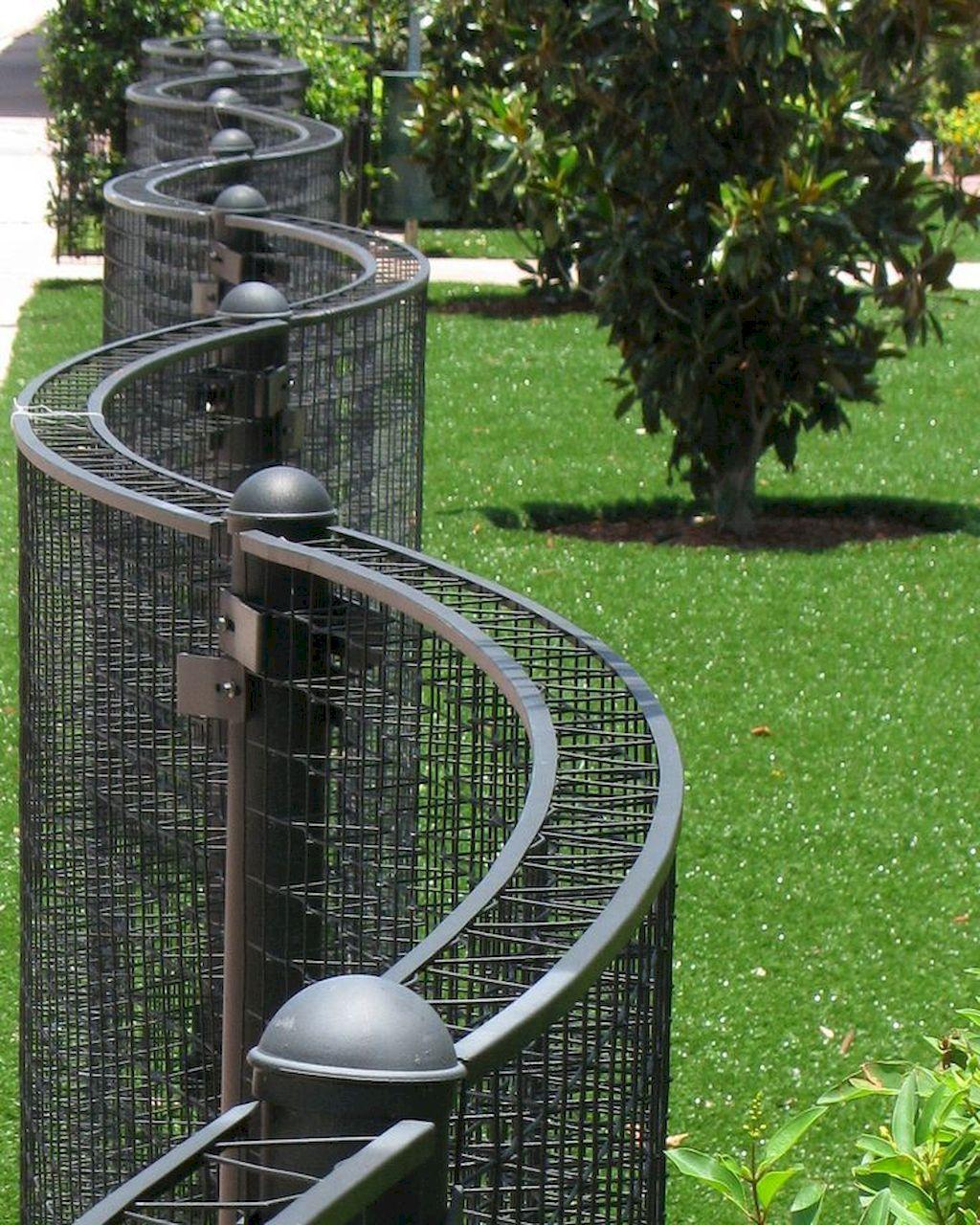 55 gorgeous gabion fence design for garden ideas front on backyard garden fence decor ideas id=79163