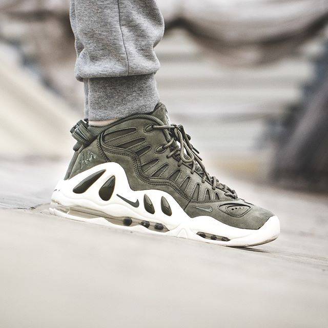 Nike Air Max Uptempo 97 Urban Haze + on feet