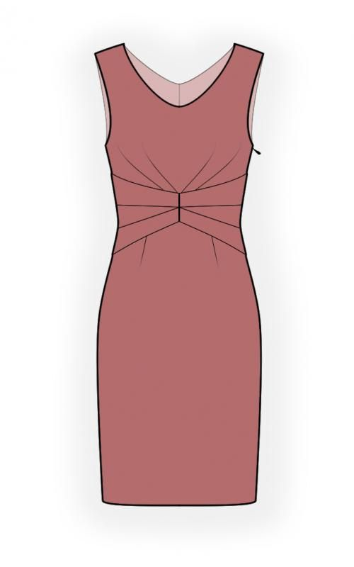 Lekala 4436 Dress Sewing Pattern PDF Download Free by TipTopFit ...