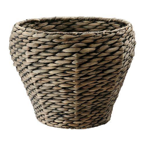 DRUVFLÄDER Ruukku IKEA Käsin tehty. Muovisen sisäruukun ansiosta ruukku on vedenkestävä.