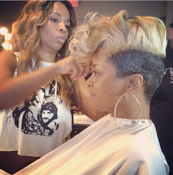 Love it.april daniels hair is ALWAYS smoking hot! - Kiyah Wright Doing Her Thang!!!! Short ♥Sexy ♥Chic ♥Hair