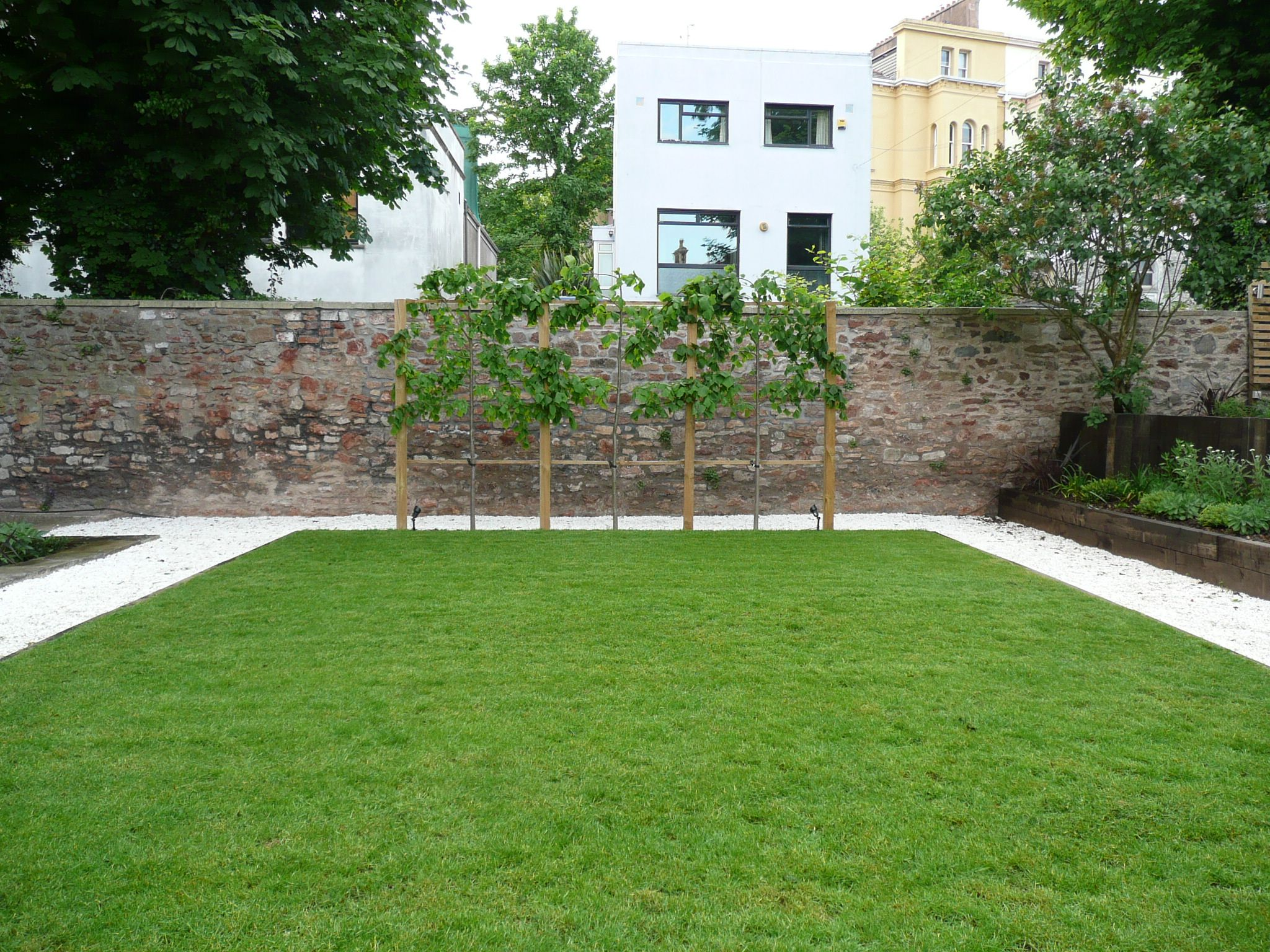 Geometric Shapes And Structural Forms Were Used To Implement My Clientu0027s  Brief To Create A Garden