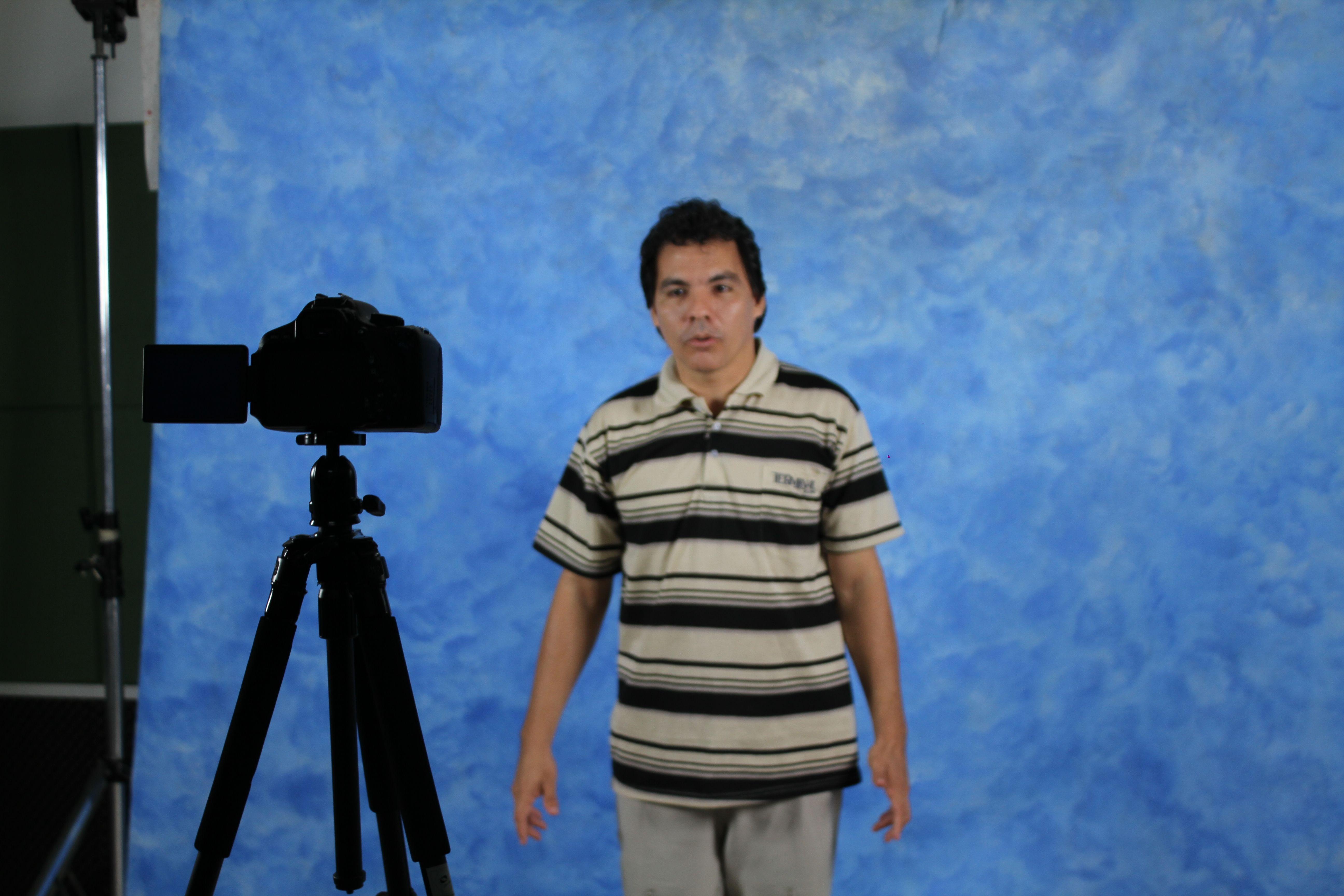 Luxã Nautilho participa do Teste para Elenco de Cinema no IESAM, em Belém
