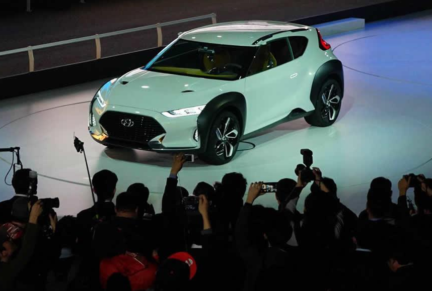 Hyundai Enduro Concept At 2015 Seoul Motor Show Worldcarfans