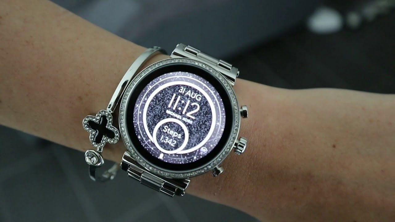Smart Watch Unboxing Michael Kors Access Sofie Smartwatch Mkt5061 Silver Digital Watches Smartwatch Women Michael Kors Smart Watch