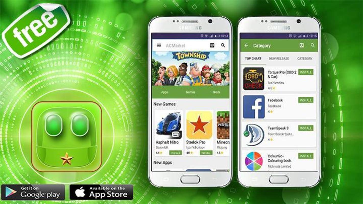 AC Market APK Cracked Apps Store (с изображениями) Гаджеты