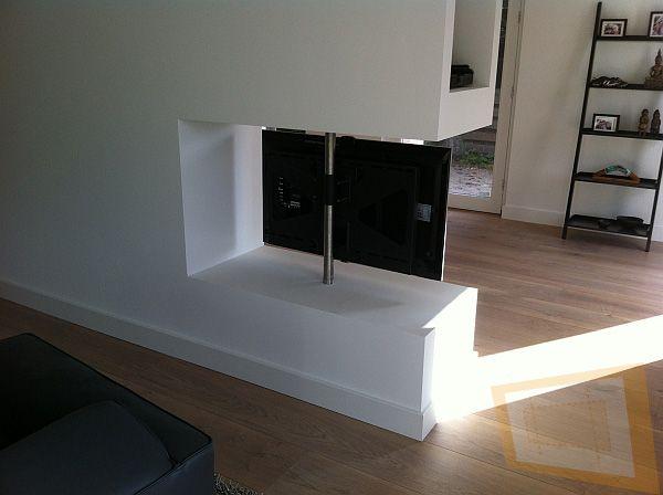 TV paal 180 graden draaibaar TV Pinterest Tv stands - tv im badezimmer