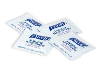 Purell Cottony Soft Premium Hand Sanitizing Wipes 7 X 5 80