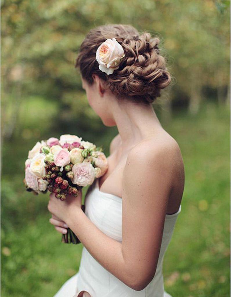 Coiffure Mariee Pour Visage Long Les Plus Jolies Coiffures De Mariee Pour S Inspirer Elle Wedding Hairstyles Updo Wedding Updo Wedding Hairstyles