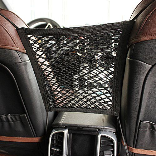MOTYYA Car Dog Barrier 2 Layer Auto Seat Net OrganizerUniversal