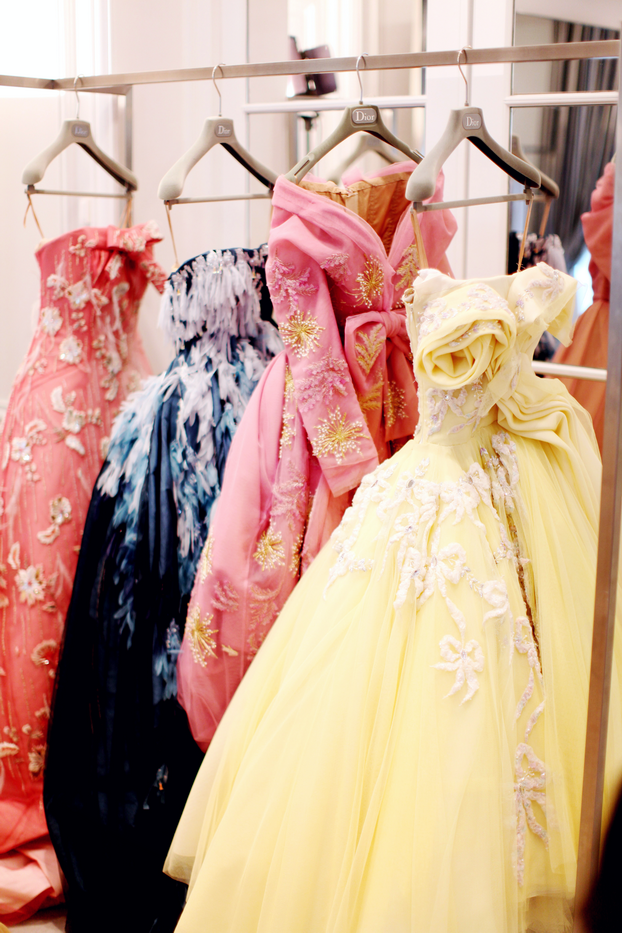 Dior Haute Couture. the yellow and first pink one look divine | My ...