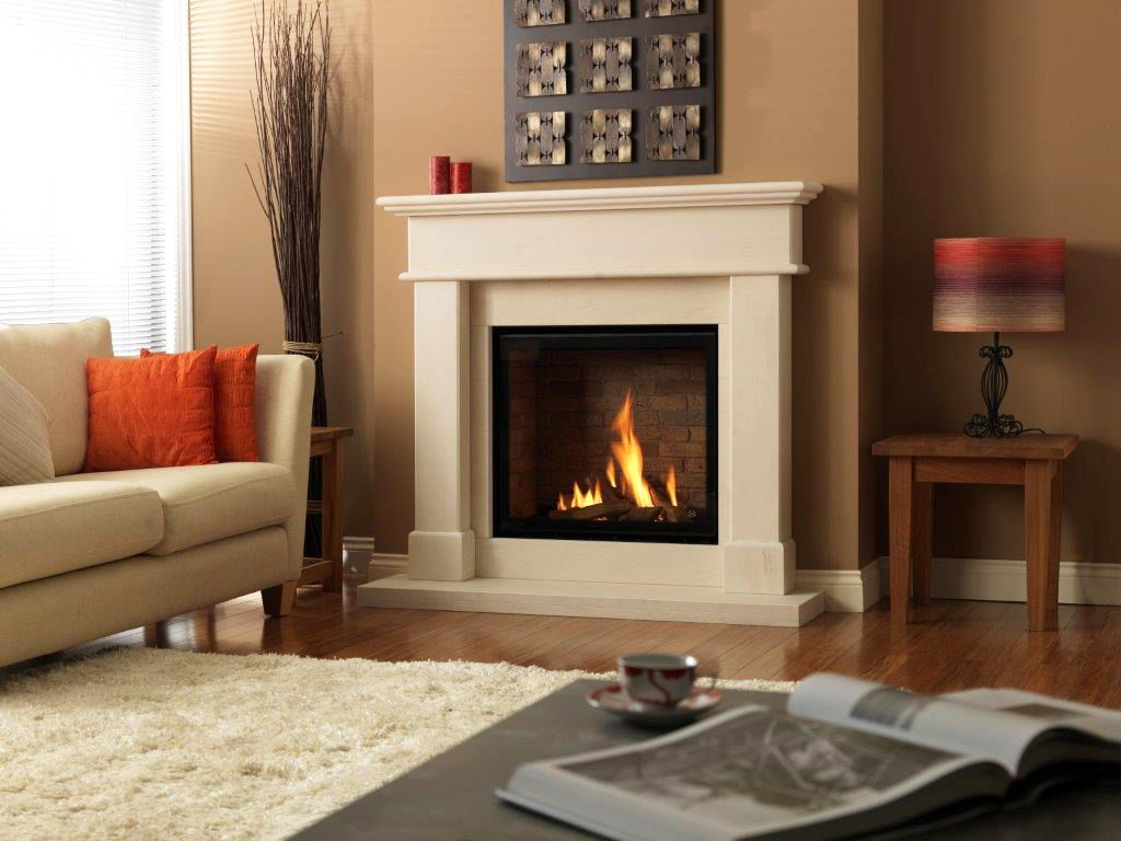 dru global 100 hole in the wall balance flue gas fire hole in