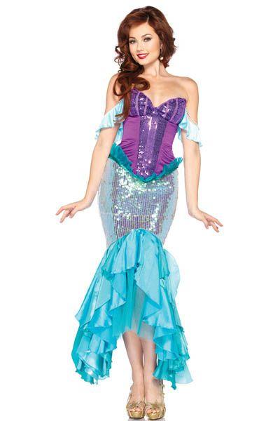 8920053ea00e8e Fantasia Princesa Ariel Importada | Fantasia | Roupa de sereia ...
