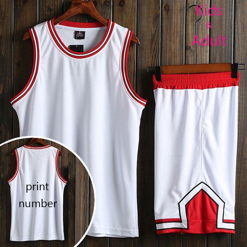 da3ea67deb5 Kaufen Männer/Frauen Kinder Günstige Professionelle Basketball Jerseys  Jugend Basketball Uniformen Set Shirt und Shorts Atmungs Training Jerseys1