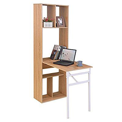 chuangke fashion pour ordinateur portable pliable bureau biblioth que tag re de rangement. Black Bedroom Furniture Sets. Home Design Ideas
