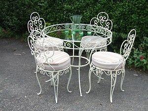 iron patio furniture wrought iron