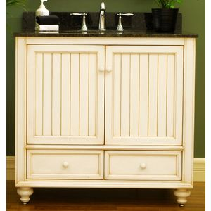 Sunnywood Bb3621d Bathroom Vanities Sunnywood Bb3621d 36 Wood Bathroom Vanity Ca Cottage Style Bathrooms