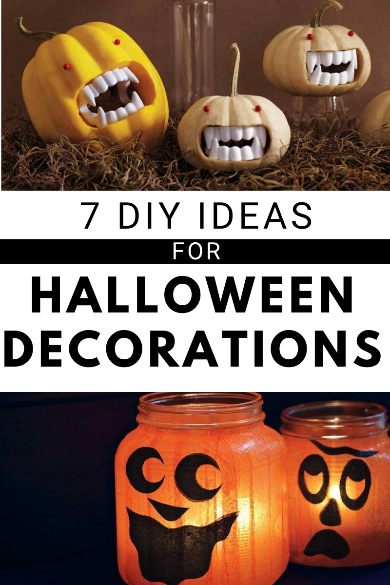 7 Halloween Crafts For Grown Ups In 2020 Halloween Crafts Homemade Halloween Decorations Halloween Decorations