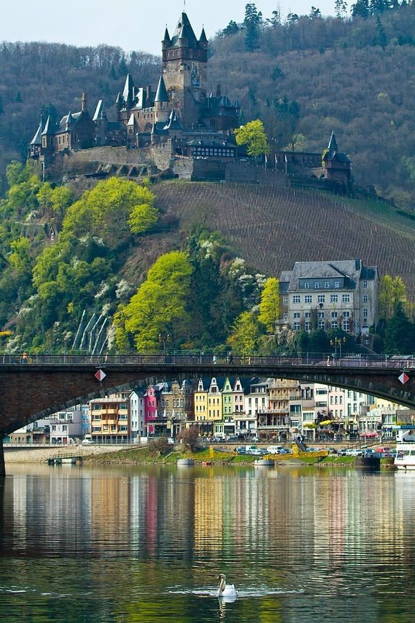 Cochem Castle, Cochem,Germany: