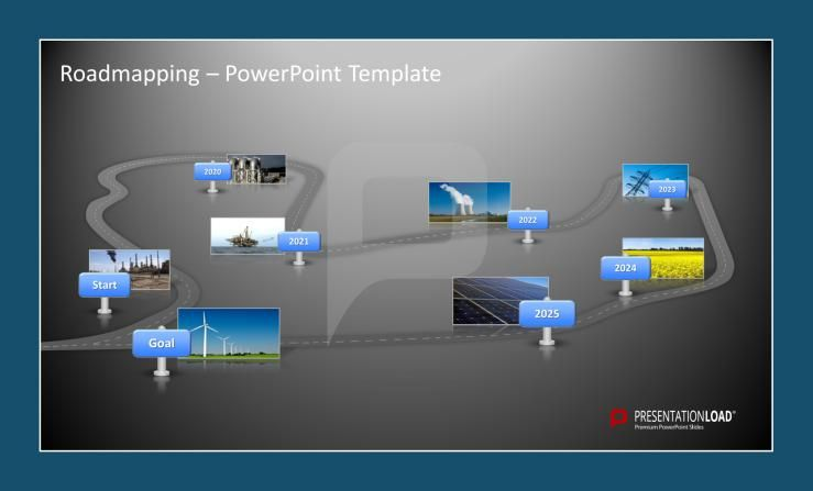 Roadmap PowerPoint Templates #presentationload http\/\/www - roadmap powerpoint template
