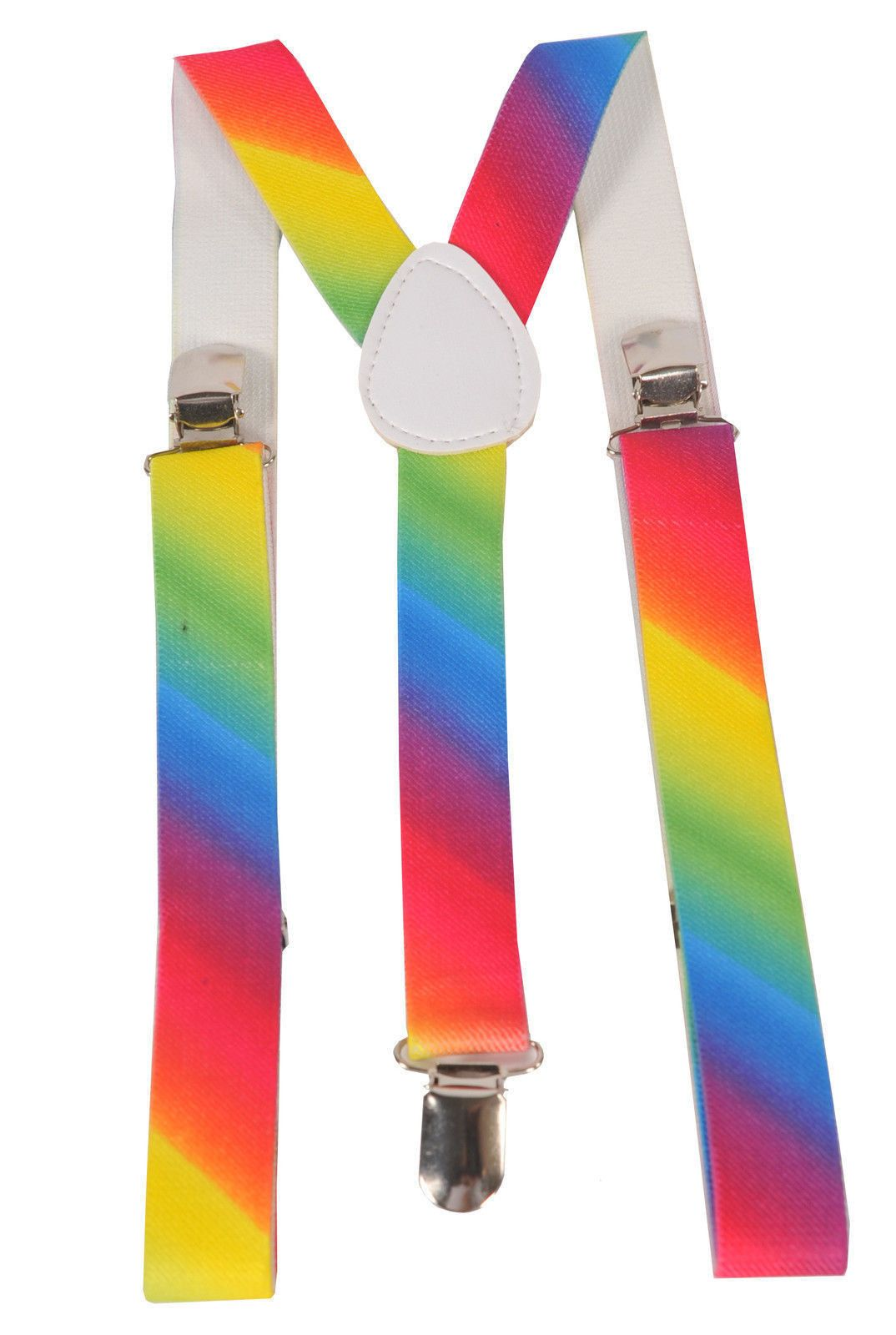 Nice great fashion rainbow unisex suspenders by dress up america