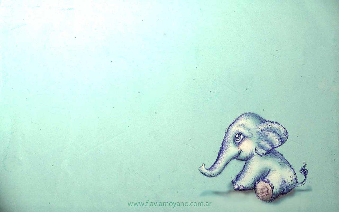 Cute Elephant Wallpapers Desktop Elephant Wallpaper Bear Art Cute Elephant