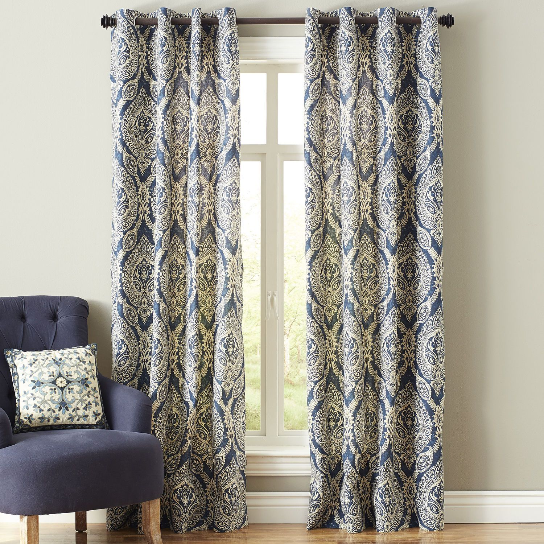 Keegan Grommet Curtain Dining Room