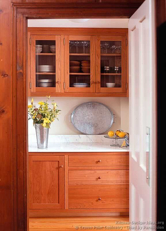 Cherry Kitchen Cabinets In A Thoughtful Design Work Hard To Make This House Home
