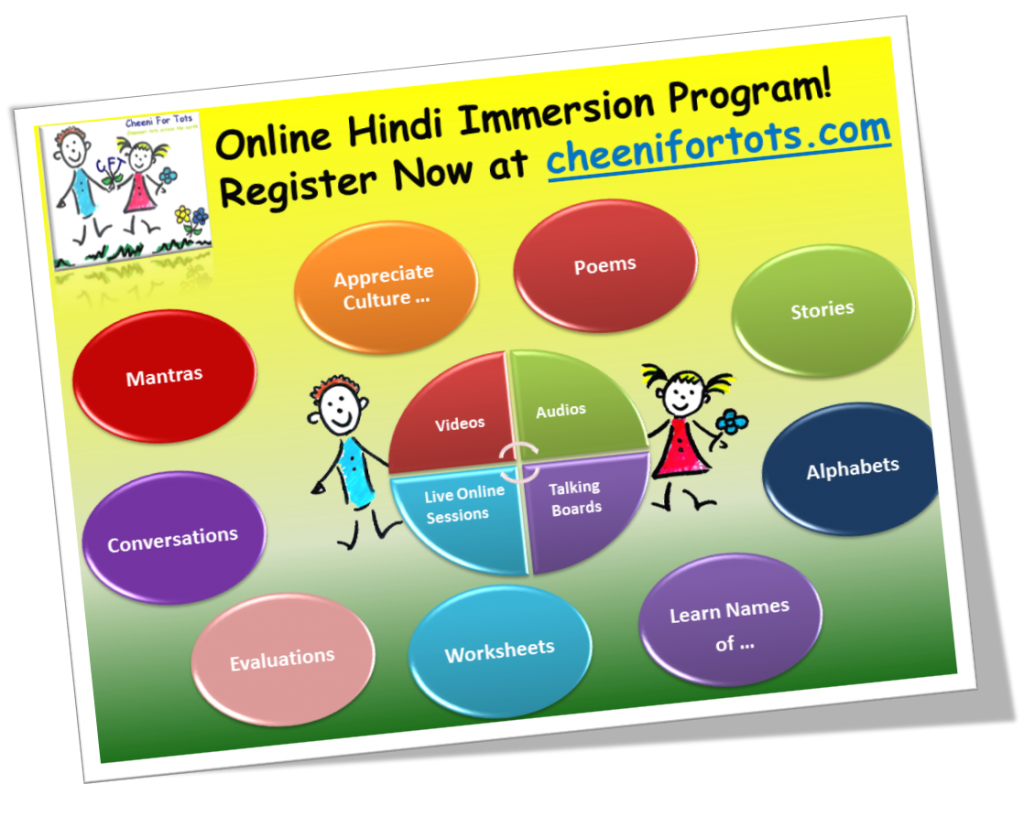 Unique And Online Hindi Immersion Program For Kids It
