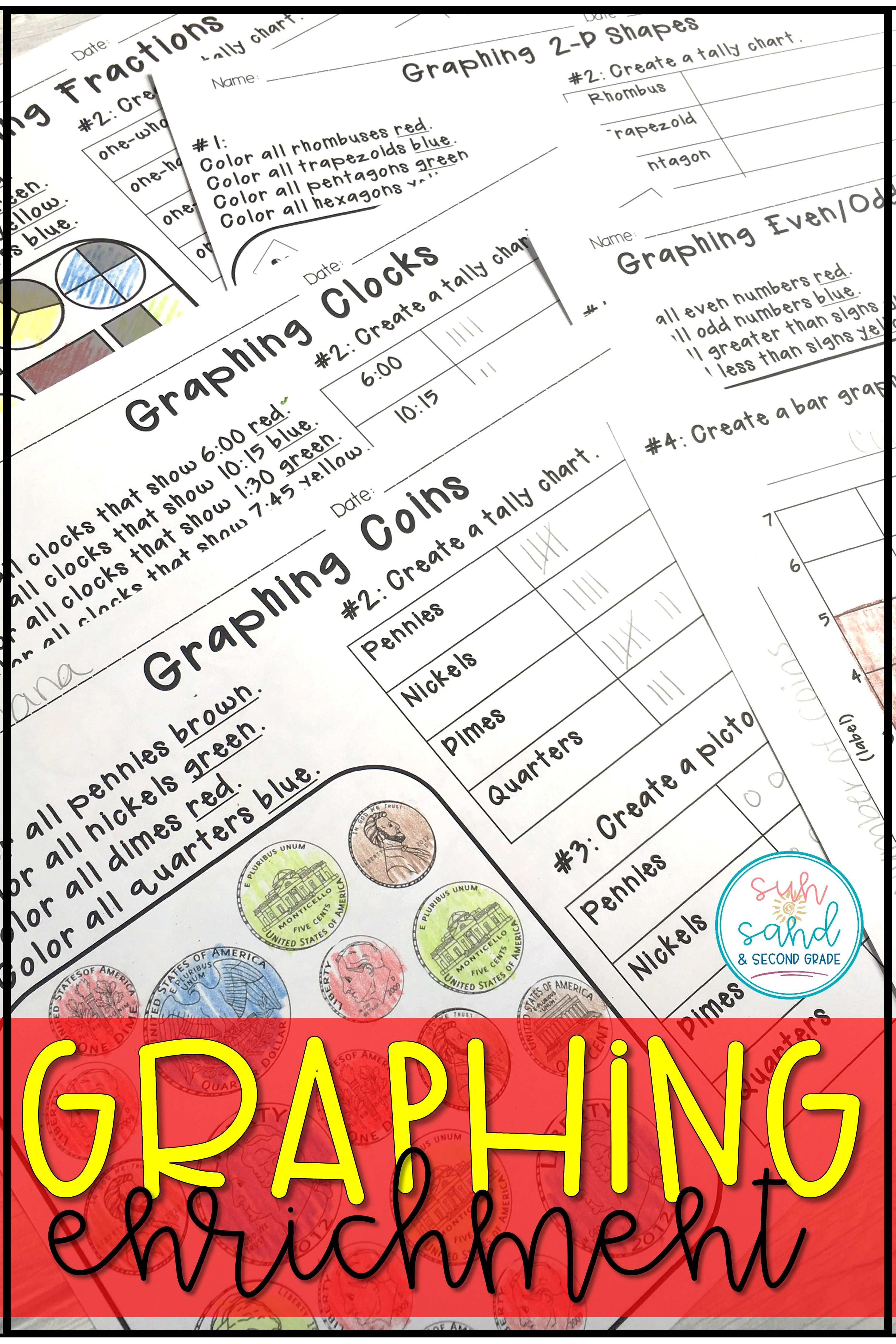 Data And Graphing Worksheets