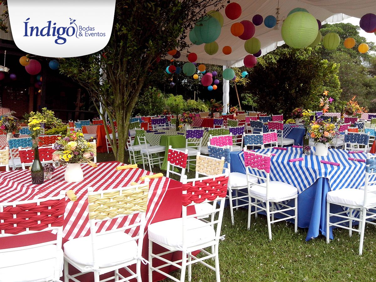 Boda campestre con decoraci n tipo country colores vivos for Decoracion con cuadros