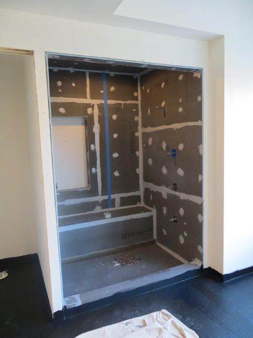 Wedi Shower System Wall Boards Ceramic Tile Backer Board For Showers Kitchen Amp Bath Design