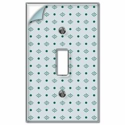 Paintable Wallpaper Covering Clear Light Switch Plate Cover Toggle Rocker  Outlet In Home U0026 Garden, Home Improvement, Electrical U0026 Solar, Switch Plates  ...
