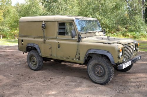 I own this. Fuck yes. Land Rover Defender 110 1986 Ex-Mod. Retired form the military in 2006.
